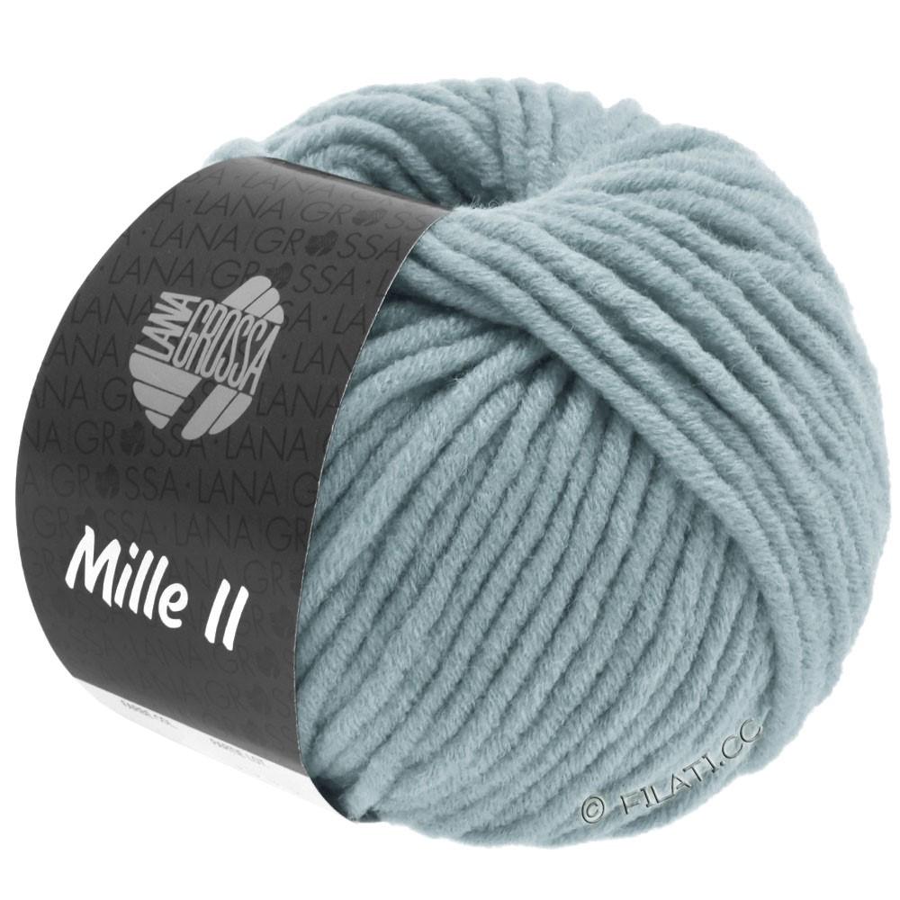 Lana Grossa MILLE II   096-grijs blauw