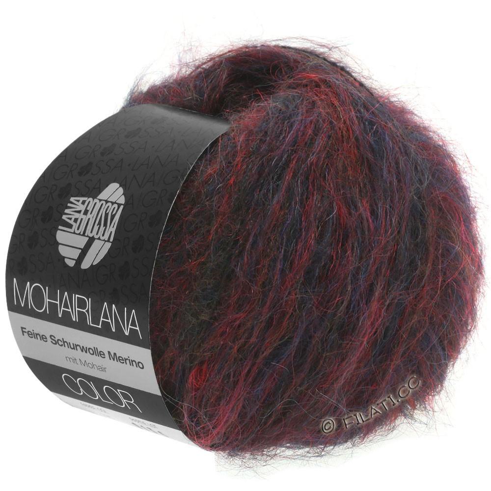 Lana Grossa MOHAIRLANA COLOR | 103-donker rood/donker blauw