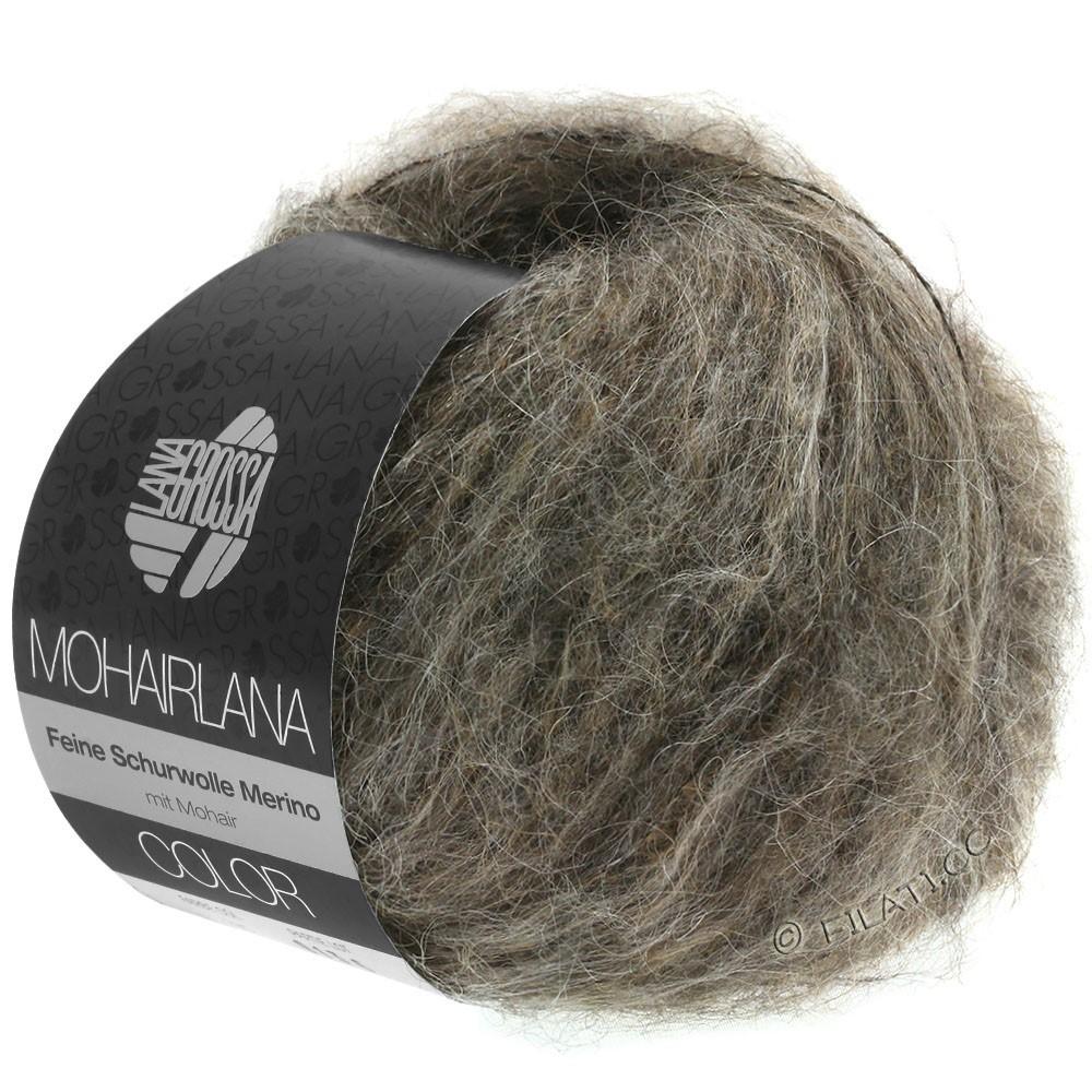 Lana Grossa MOHAIRLANA COLOR | 104-grijs bruin/modder