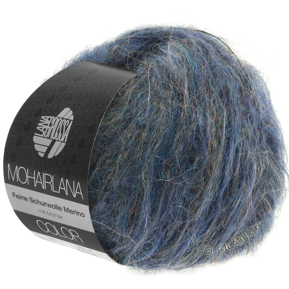 Lana Grossa MOHAIRLANA COLOR | 108-domkerjeans/blauw violet