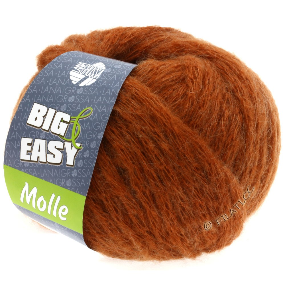 Lana Grossa MOLLE 100g (Big & Easy) | 01-koper