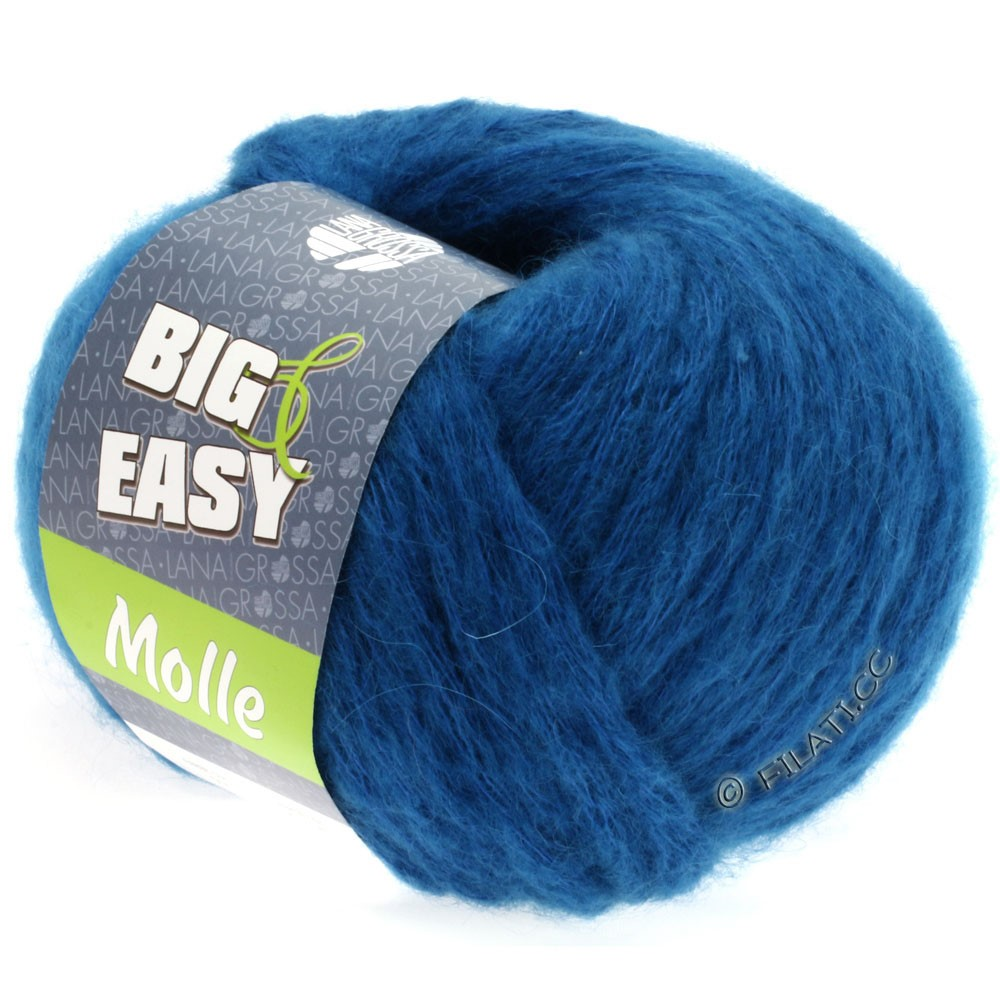 Lana Grossa MOLLE 100g (Big & Easy) | 04-blauw