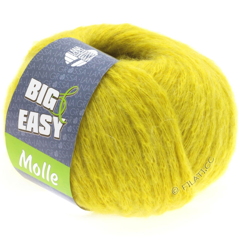 Lana Grossa MOLLE 100g (Big & Easy) | 07-geel