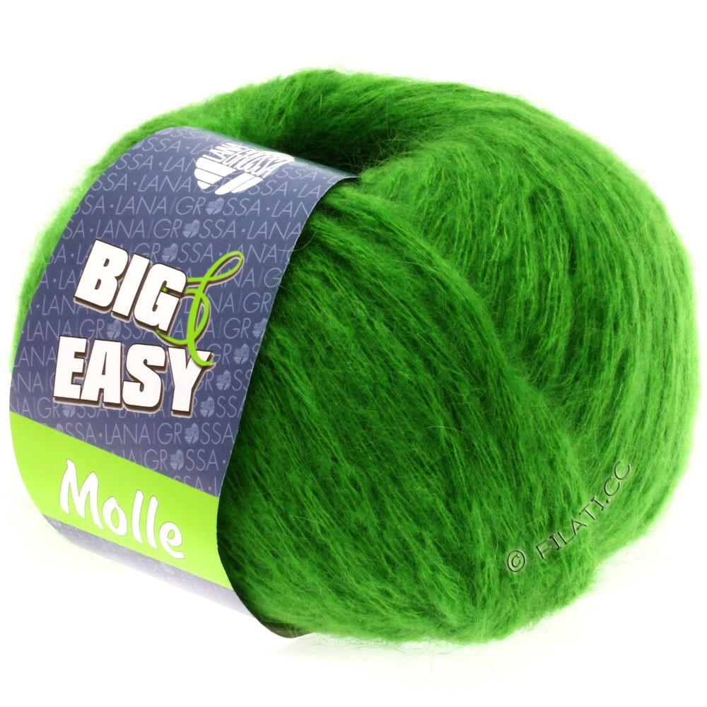 Lana Grossa MOLLE 100g (Big & Easy) | 08-groen