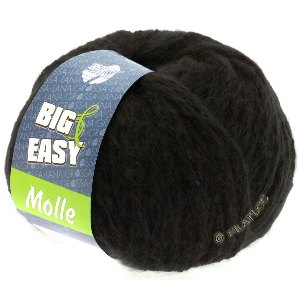 Lana Grossa MOLLE 100g (Big & Easy) | 10-mokka