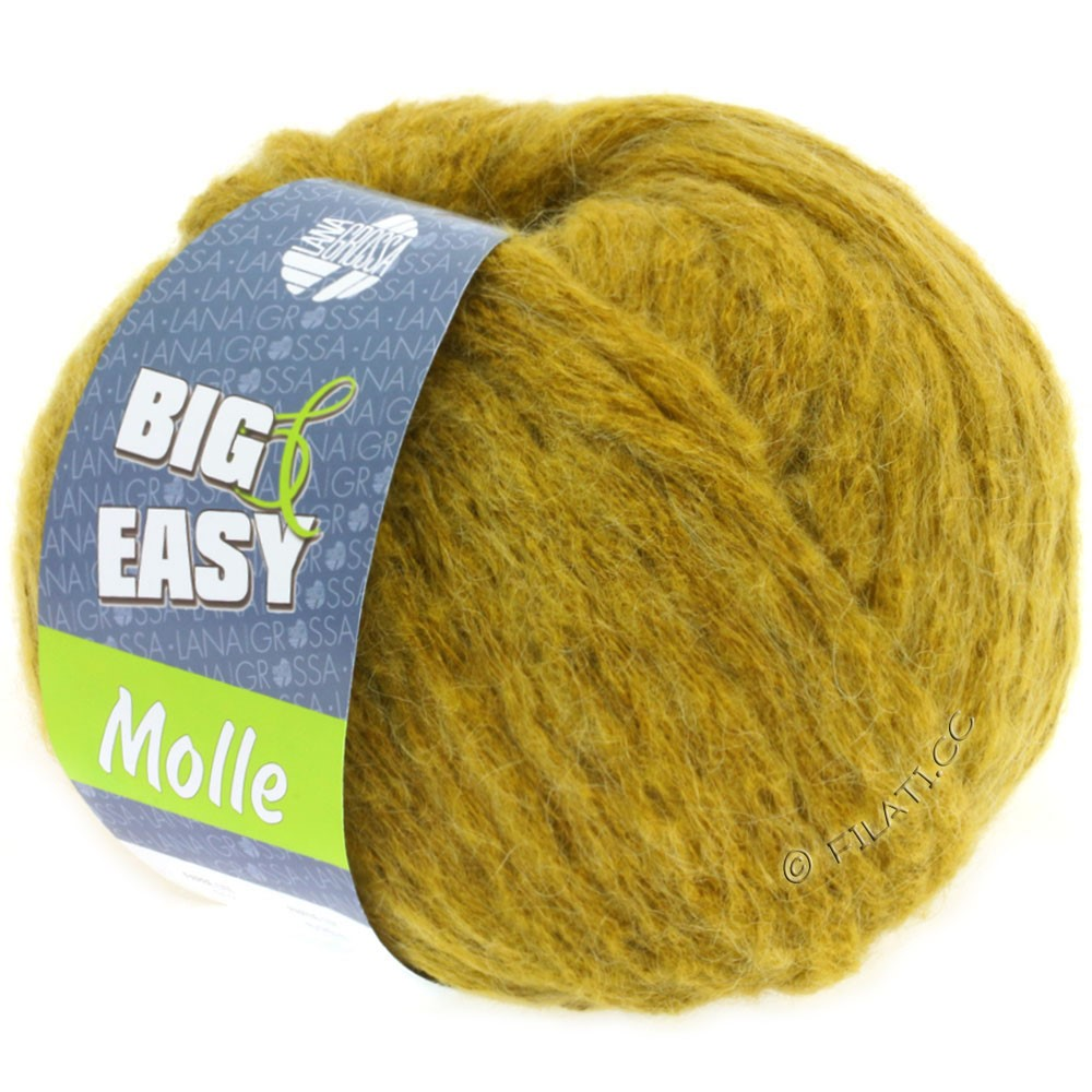 Lana Grossa MOLLE 100g (Big & Easy) | 13-mosterd