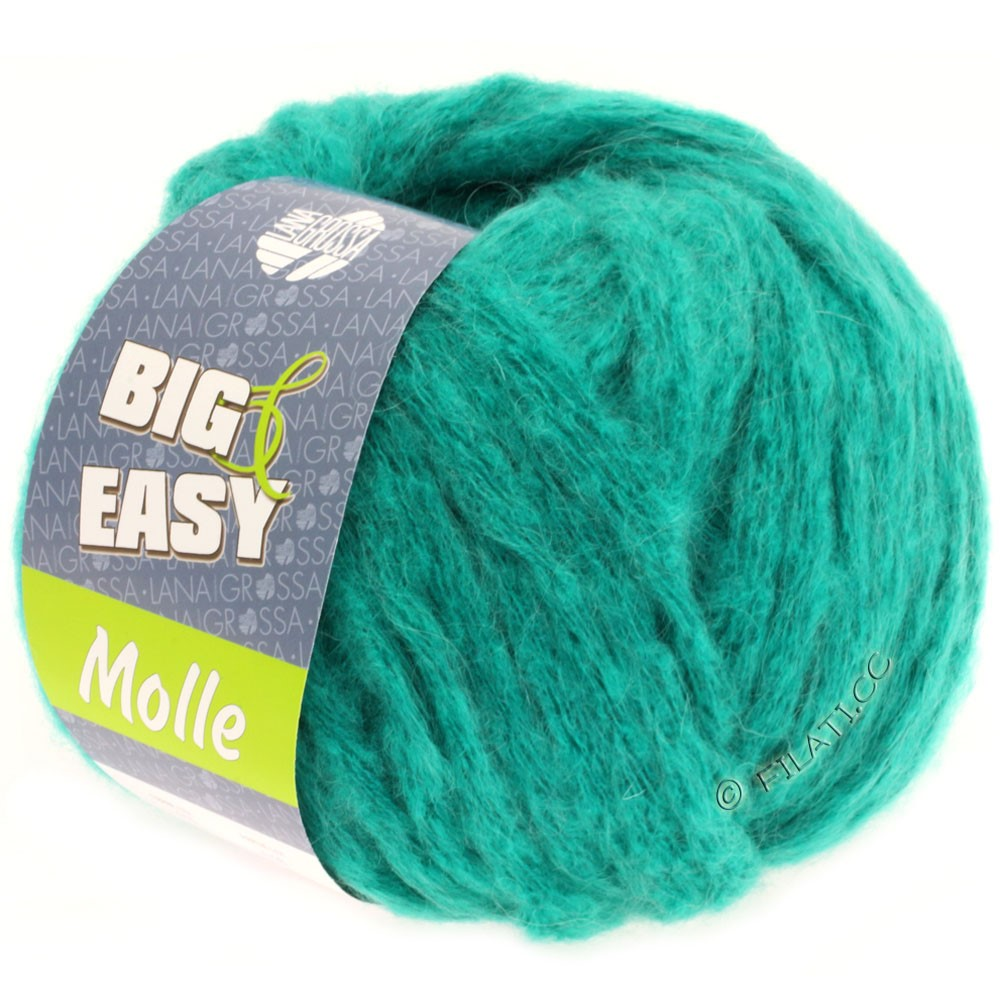 Lana Grossa MOLLE 100g (Big & Easy) | 15-turkoois