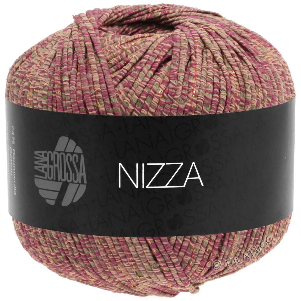 Lana Grossa NIZZA | 15-oriëntrood/taupe/rose/goud