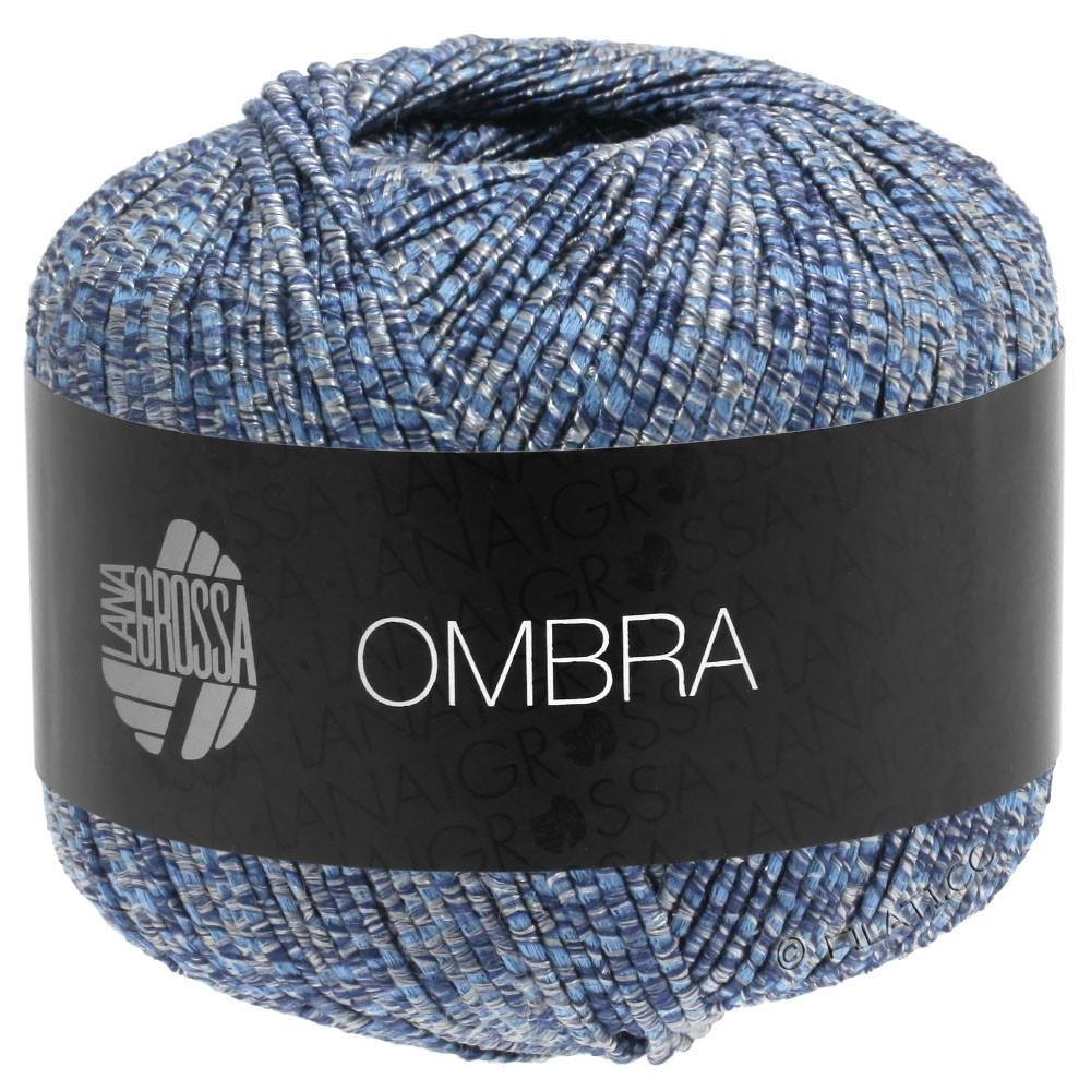Lana Grossa OMBRA   09-grijs blauw/jeans
