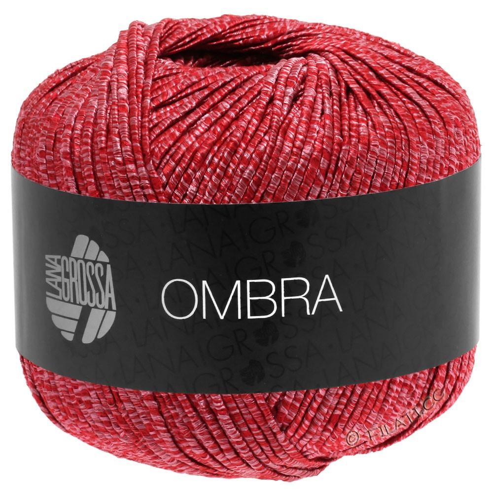 Lana Grossa OMBRA   11-licht rood/rood