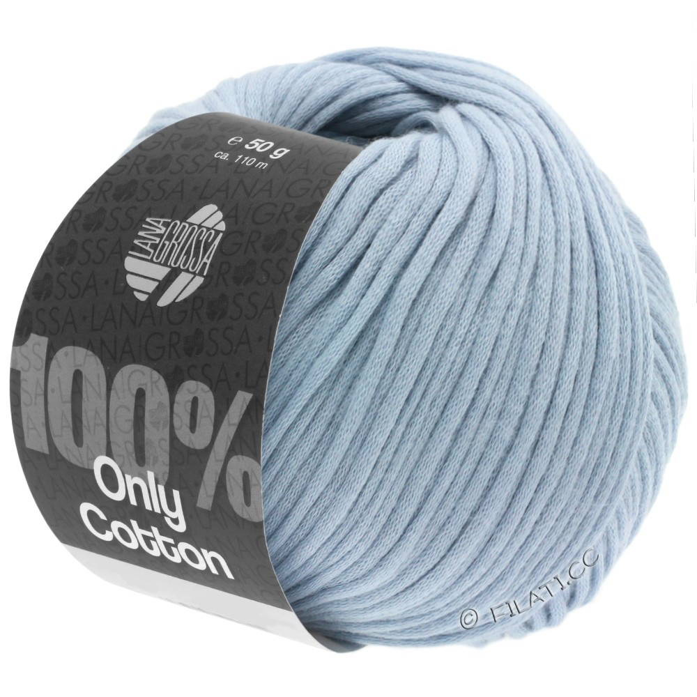 Lana Grossa ONLY COTTON | 07-licht blauw