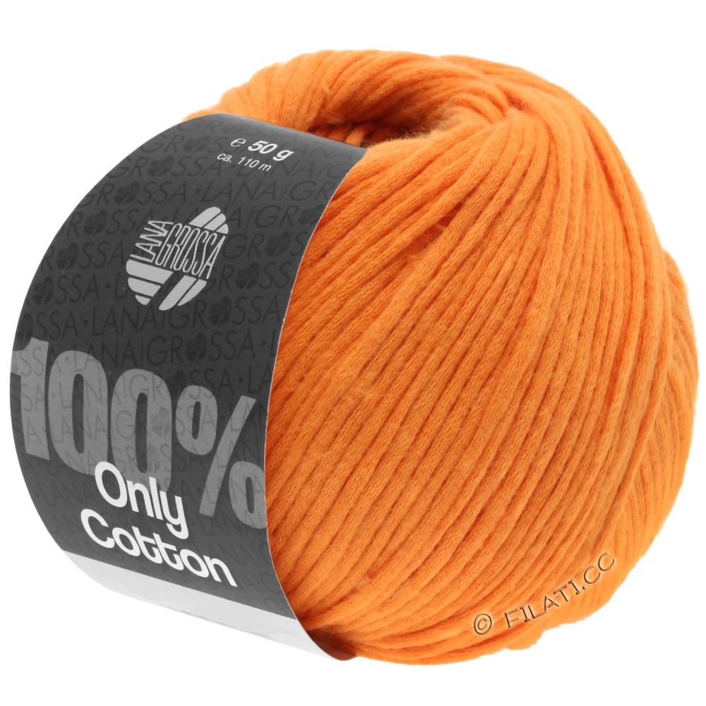 Lana Grossa ONLY COTTON | 16-oranje
