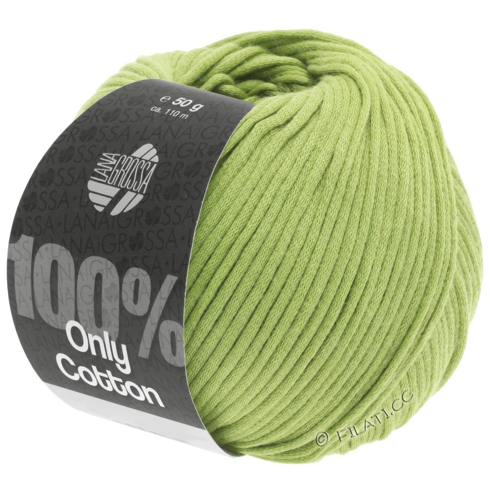 Lana Grossa ONLY COTTON | 23-limegroen