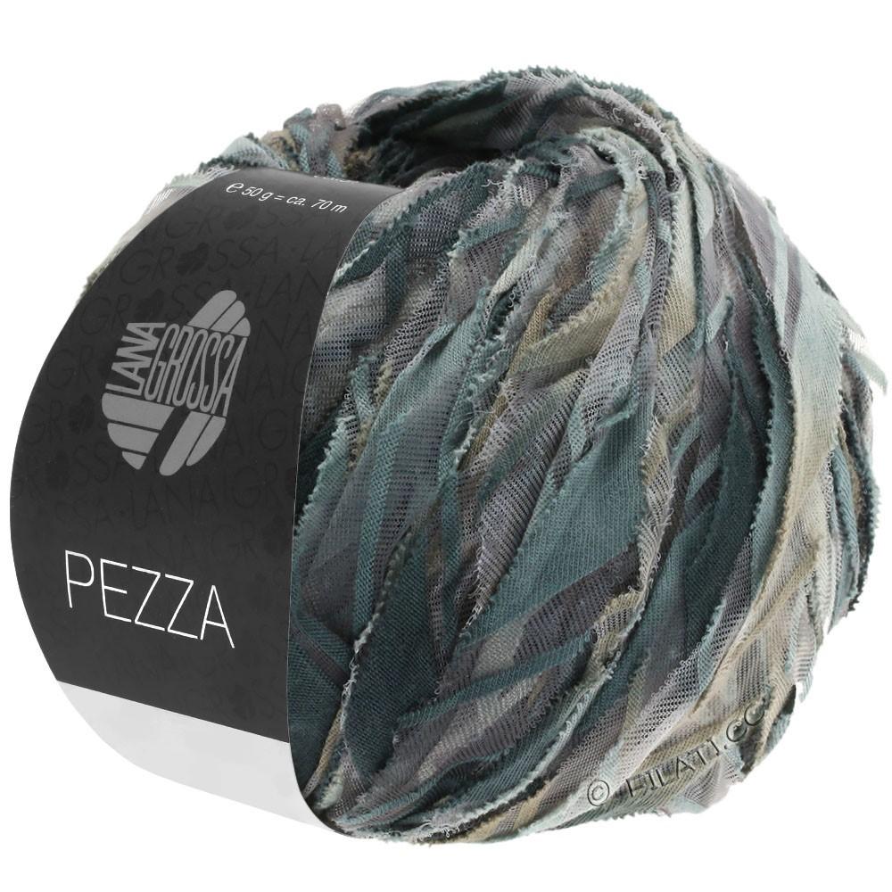 Lana Grossa PEZZA | 01-grijs/licht grijs/grijs beige/antraciet