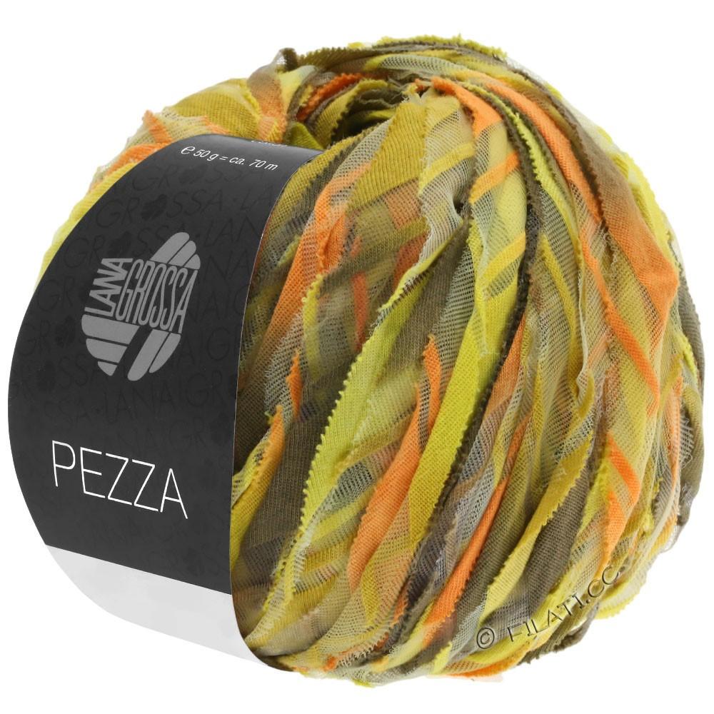 Lana Grossa PEZZA | 03-geel/oranje/oker/grijs beige