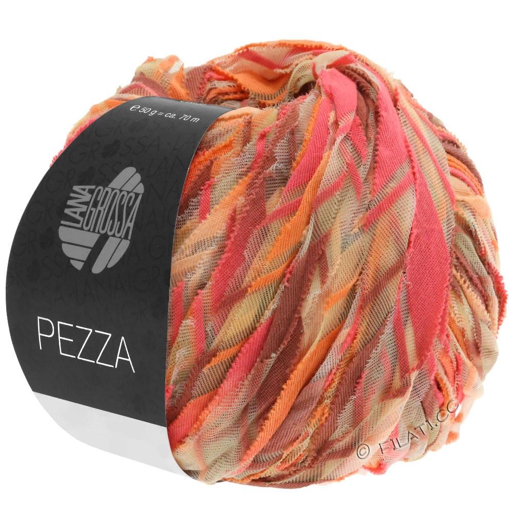 Lana Grossa PEZZA | 07-zalm/oranje/perzik/kaneel