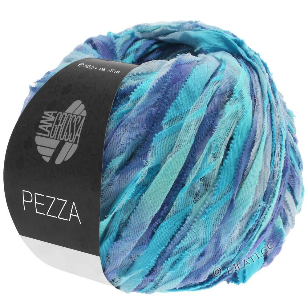 Lana Grossa PEZZA | 10-munt/turkoois/blauw violet/paarsblauw