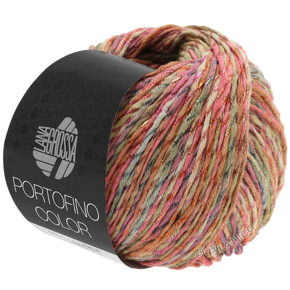 Lana Grossa PORTOFINO Color | 103-antieke roze/zand/grijs/kaneel