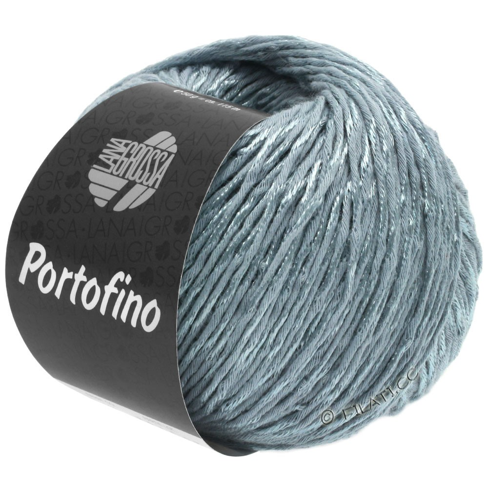Lana Grossa PORTOFINO | 06-grijs blauw