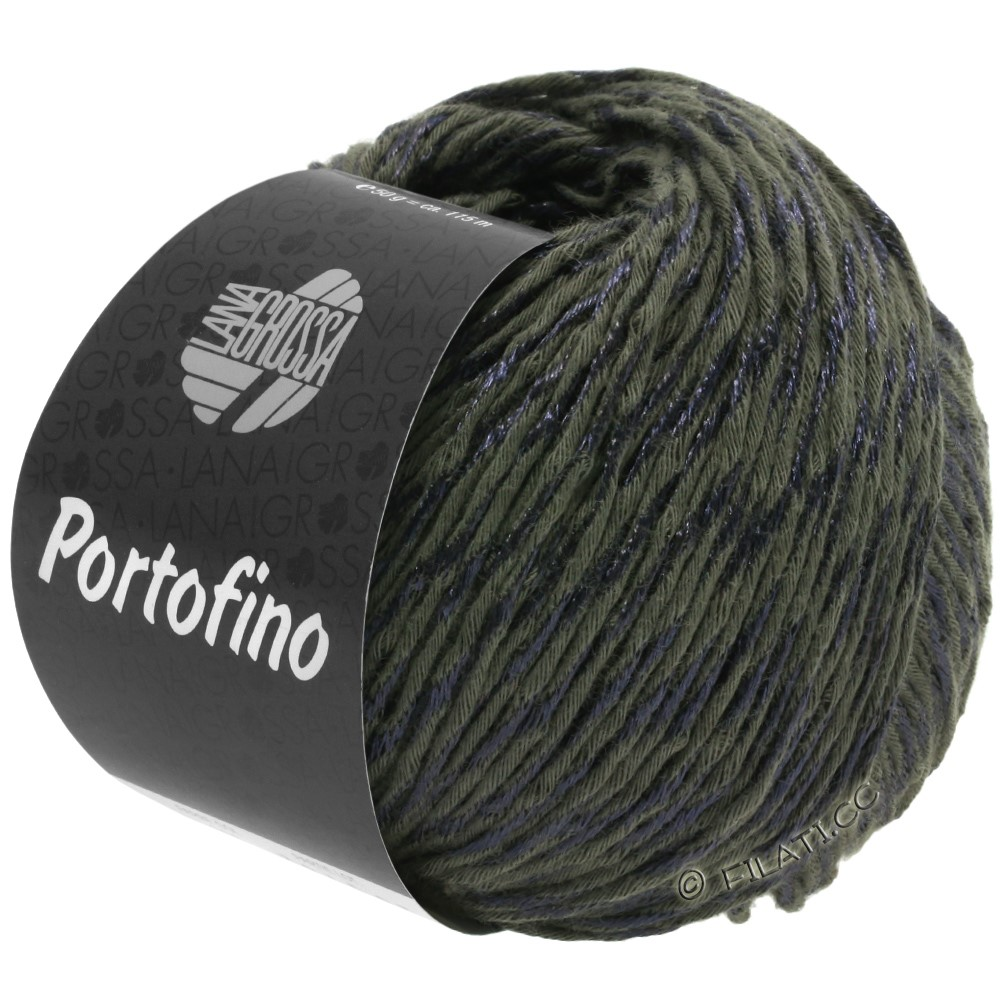 Lana Grossa PORTOFINO | 18-zwartbruin