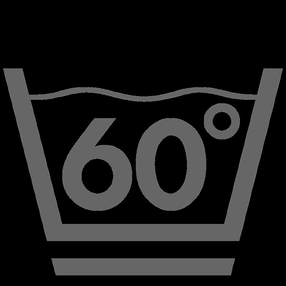 Wassen 60°C (zacht)