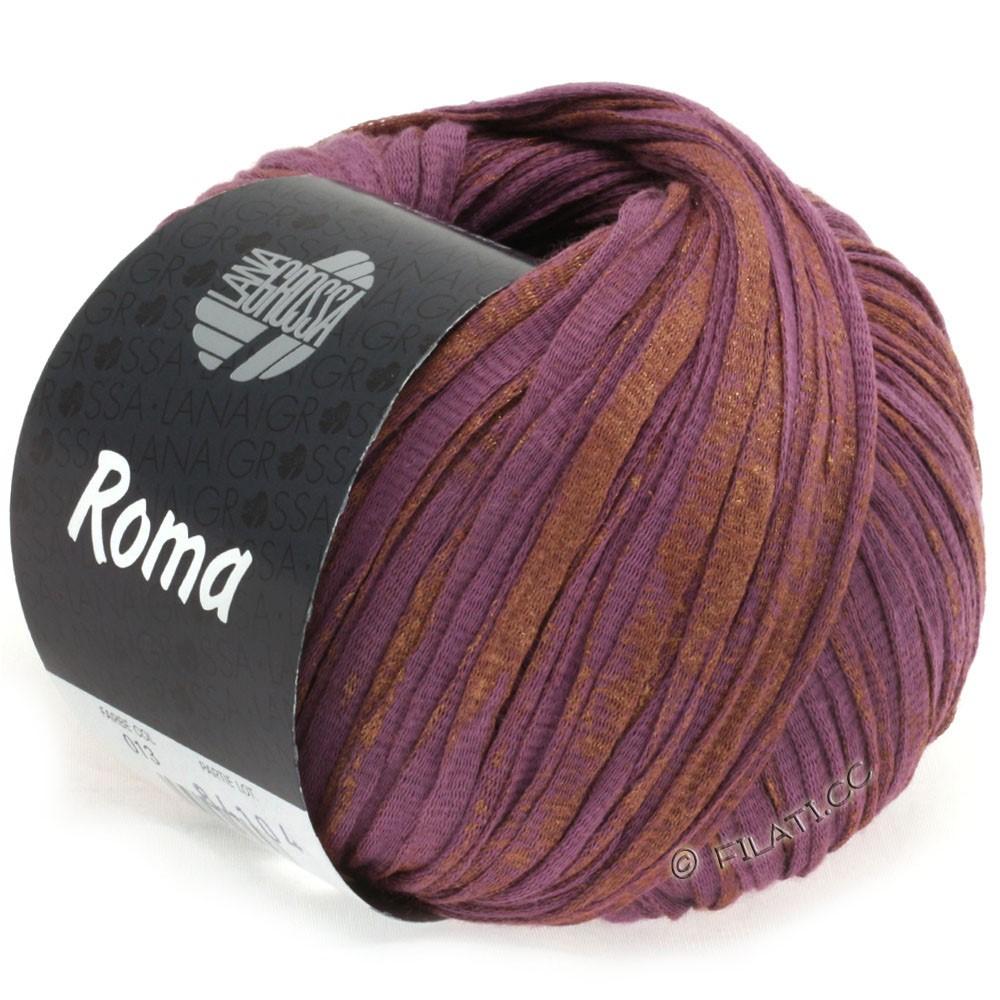 Lana Grossa ROMA   013-paars/koper