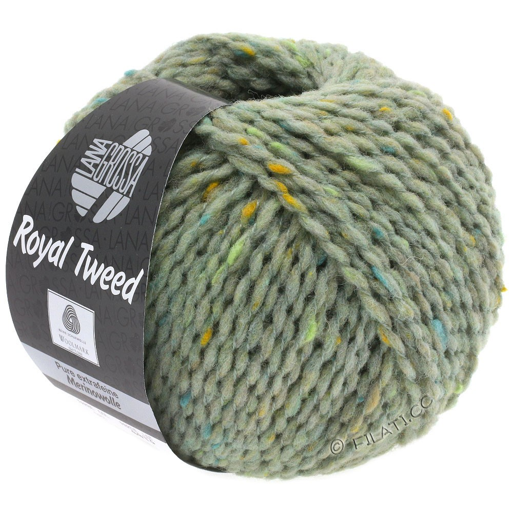 Lana Grossa ROYAL TWEED | 83-munt gemêleerd