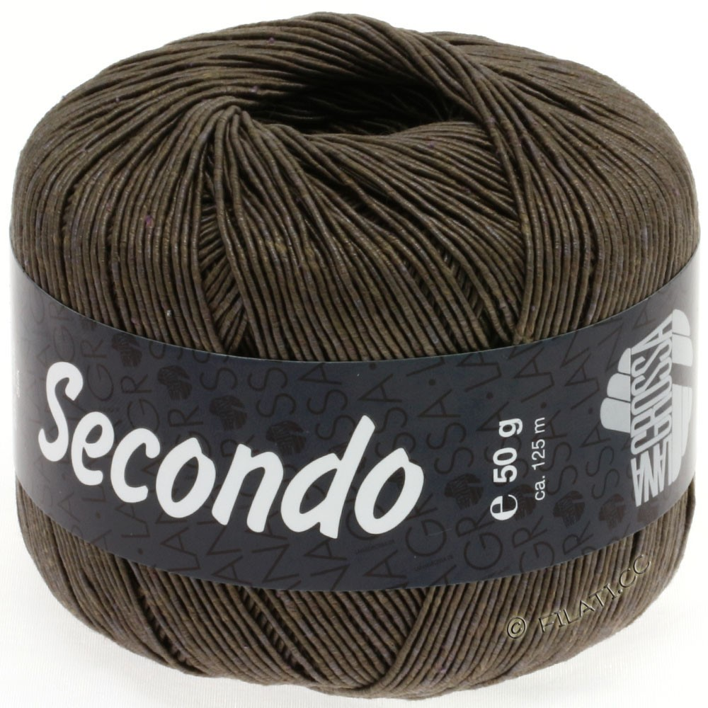 Lana Grossa SECONDO | 09-grijs bruin