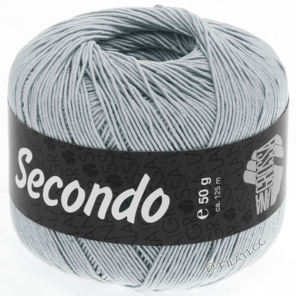 Lana Grossa SECONDO | 61-blauwgrijs