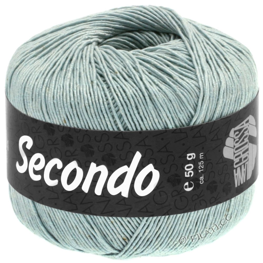 Lana Grossa SECONDO | 72-ijsblauw