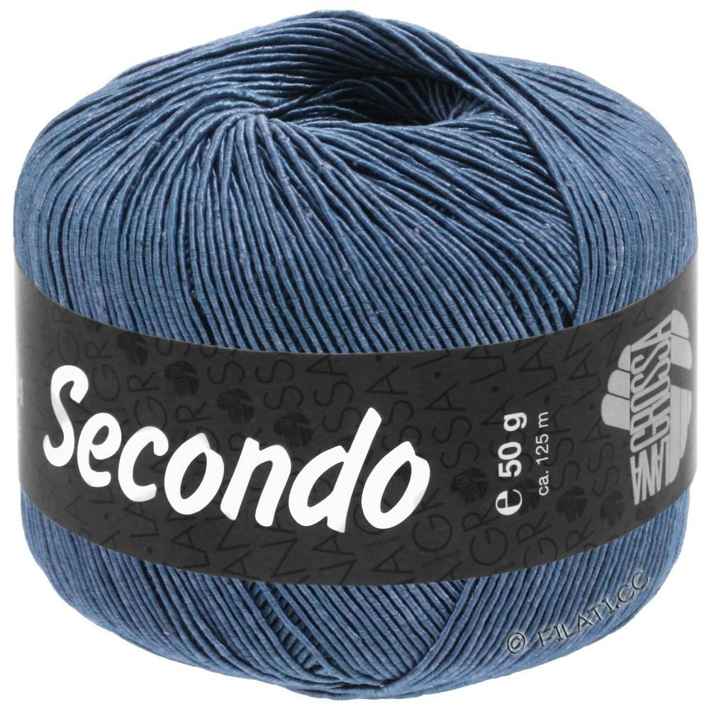 Lana Grossa SECONDO | 84-staalblauw