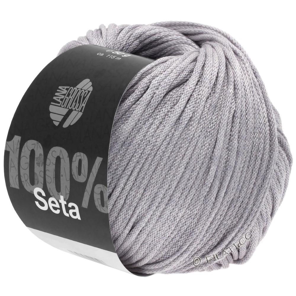 Lana Grossa SETA   04-grijs paars