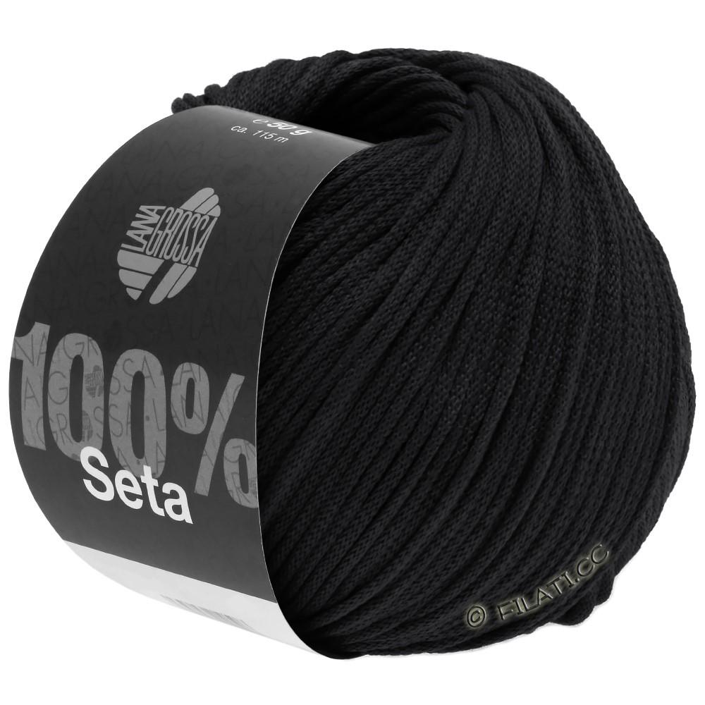 Lana Grossa SETA   14-zwart
