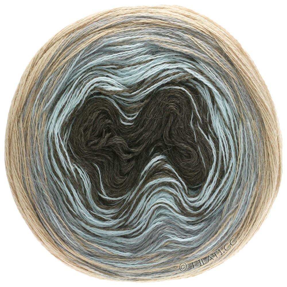 Lana Grossa SHADES OF ALPACA SILK | 304-beige/licht grijs/ijsblauw/mokka