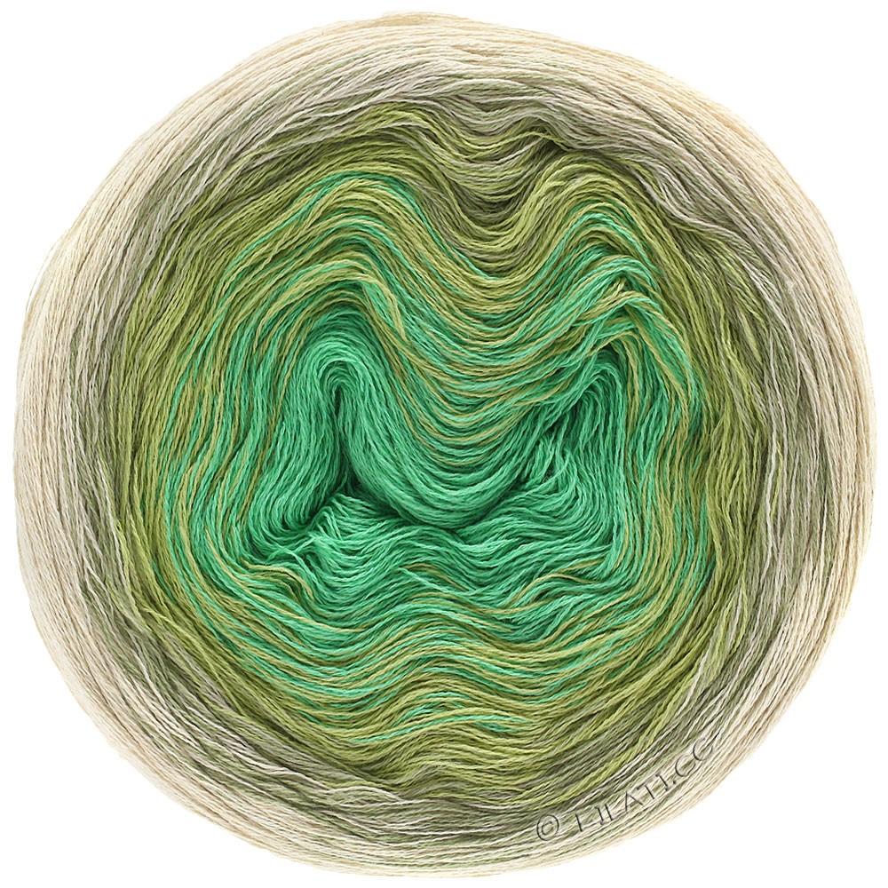 Lana Grossa SHADES OF COTTON LINEN | 706-natuur/beige/rietgroen/jade