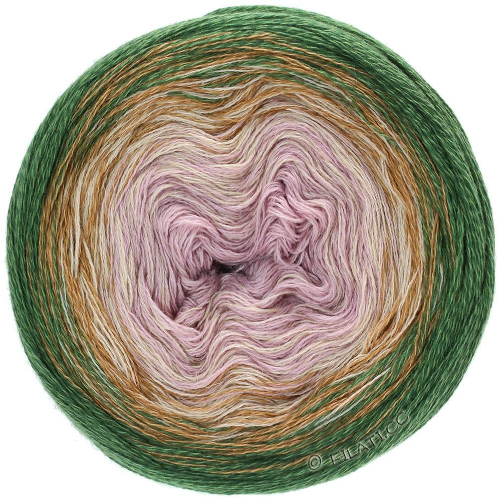 Lana Grossa SHADES OF MERINO COTTON | 410-oudroze/grijs beige/omber/donker bruin