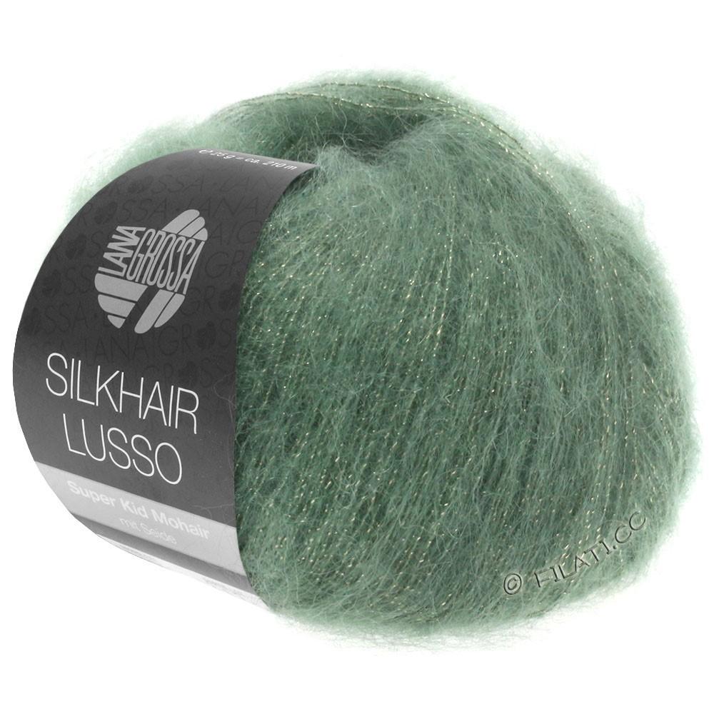 Lana Grossa SILKHAIR Lusso   911-groen