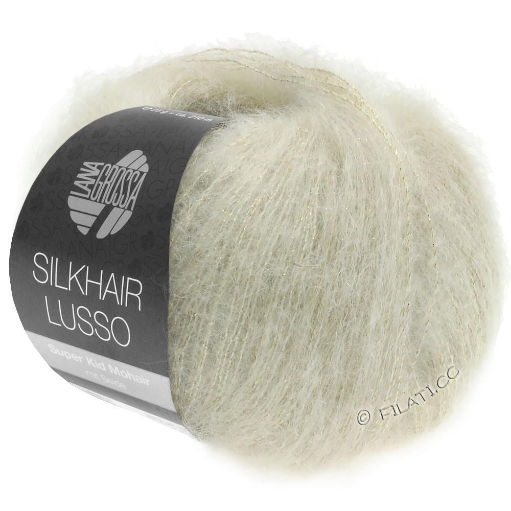 Lana Grossa SILKHAIR Lusso   912-natuur