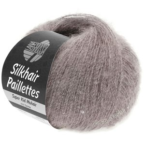 Lana Grossa SILKHAIR Paillettes | 404-taupe