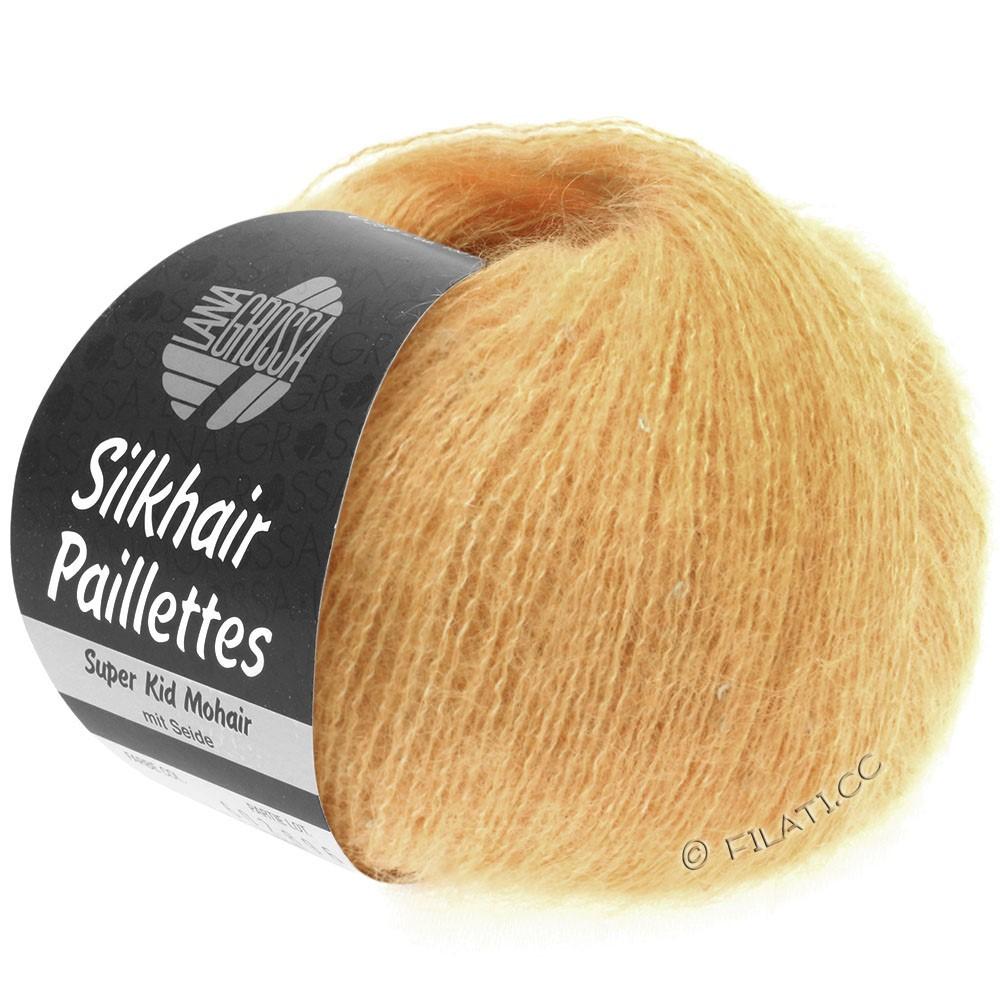 Lana Grossa SILKHAIR Paillettes | 413-abrikoos