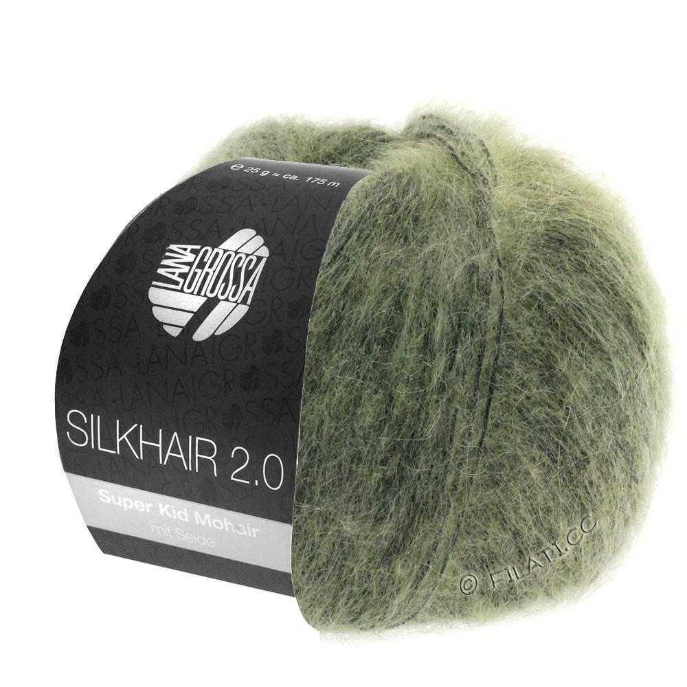 Lana Grossa SILKHAIR 2.0 | 04-grijs groen