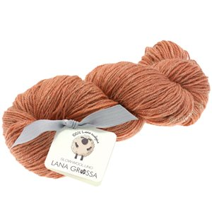Lana Grossa SLOW WOOL LINO | 25-terracotta