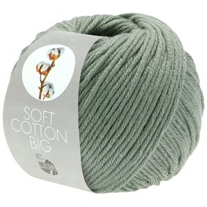 Lana Grossa SOFT COTTON Big | 13-grijs groen