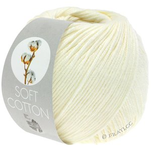 Lana Grossa SOFT COTTON | 02-ecru