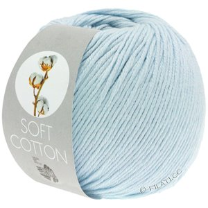 Lana Grossa SOFT COTTON | 08-licht blauw