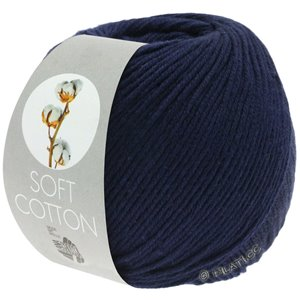Lana Grossa SOFT COTTON | 17-nacht blauw
