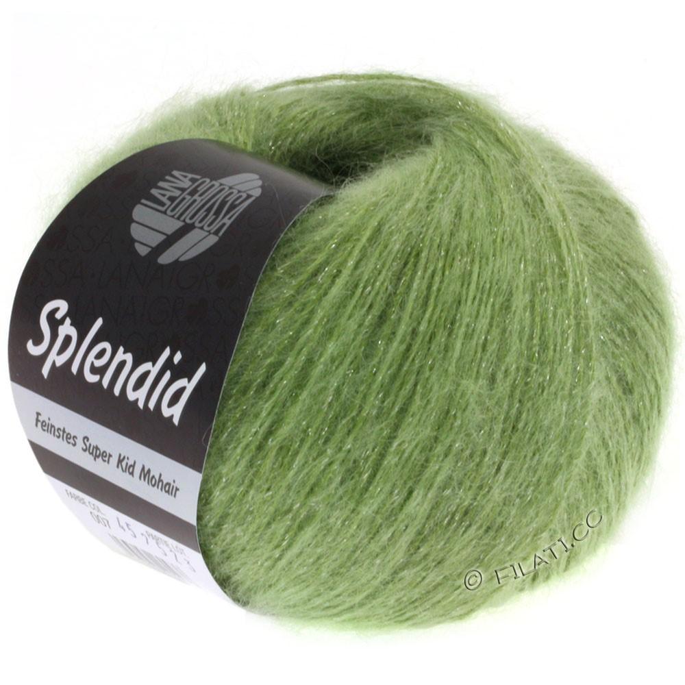 Lana Grossa SPLENDID | 09-licht groen/zilver