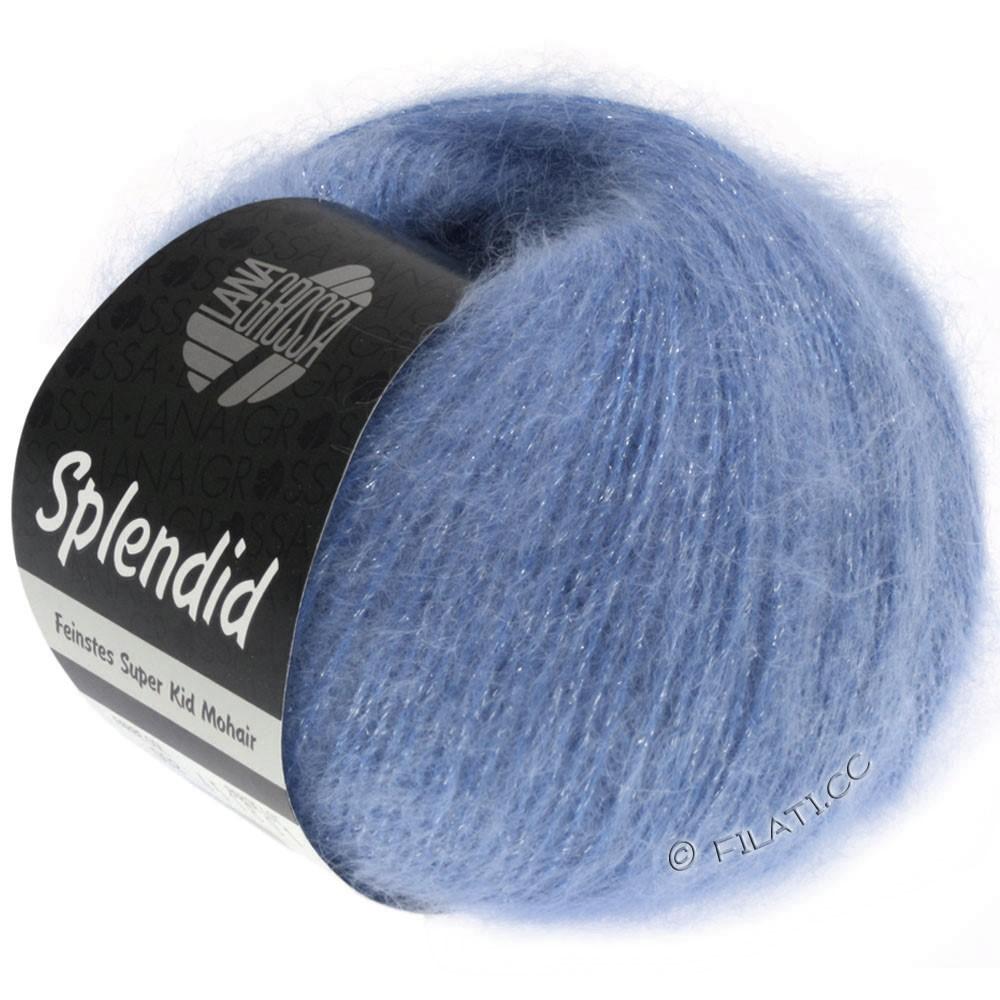 Lana Grossa SPLENDID | 23-blauw/zilver