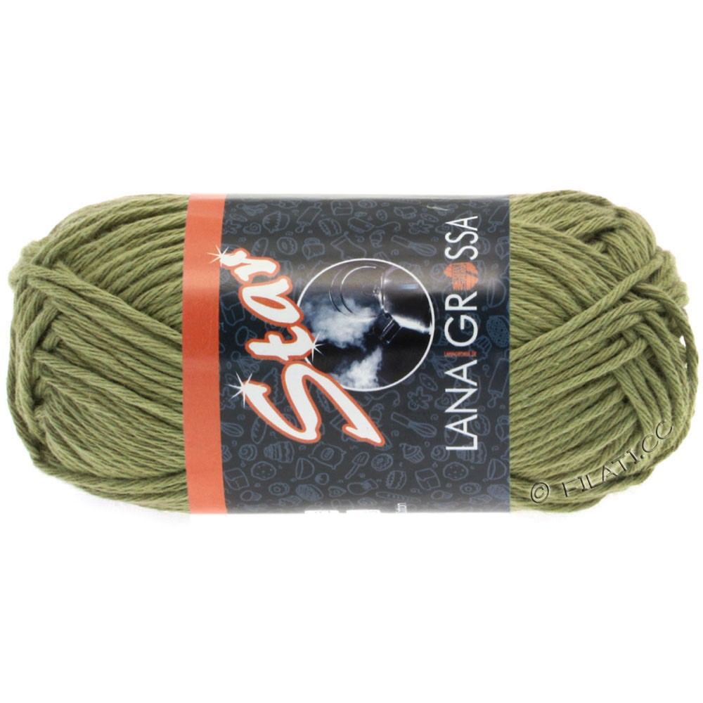 Lana Grossa STAR   63-olijf groen