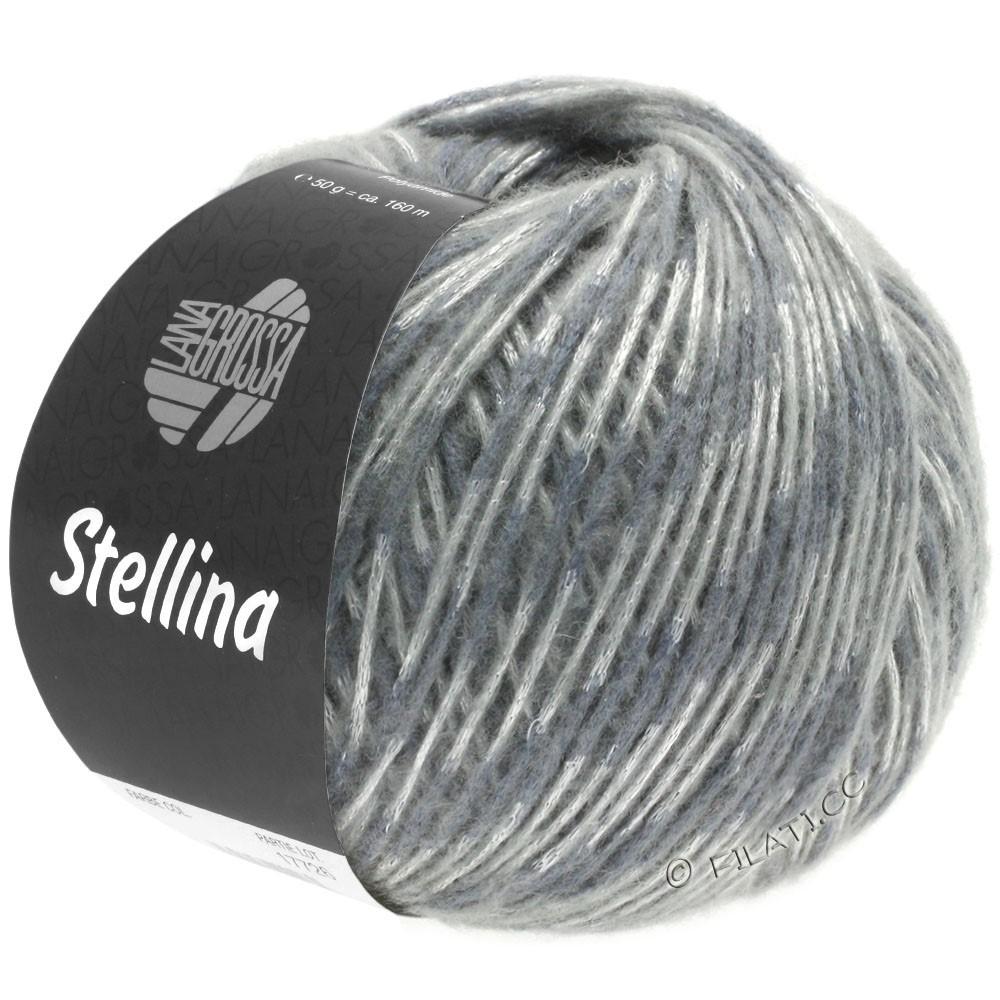 Lana Grossa STELLINA | 08-donker grijs/zilver